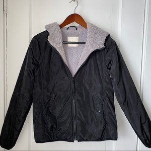 Puffer Jacket with Plush Interior